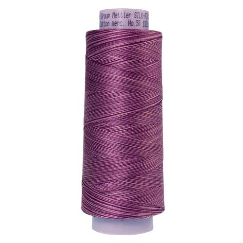 9838 - Lilac Bouquet  Silk Finish Cotton Multi 50 Thread - Large Spool